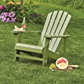 Classic Sage Painted Wood Adirondack Chair