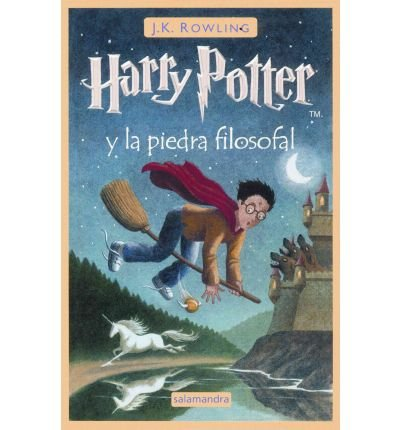 { [ HARRY POTTER Y LA PIEDRA FILOSOFAL = HARRY POTTER AND THE SORCERER'S STONE (HARRY POTTER) (SPANISH, ENGLISH) ] } Rowling, J K ( AUTHOR ) Mar-06-2001 Paperback
