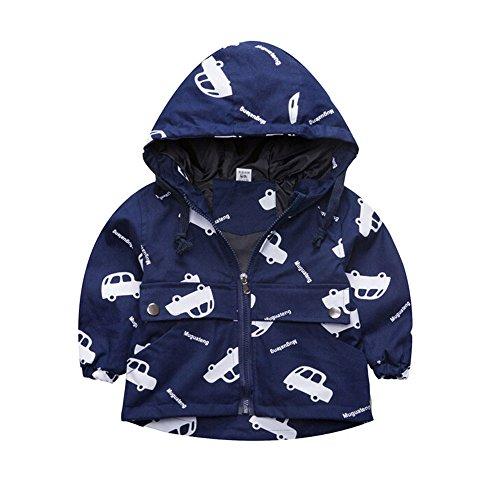 Evelin LEE Baby Boys Unique Design Giraffe Hoodies 2-7Y Lee Sports Sweatshirt