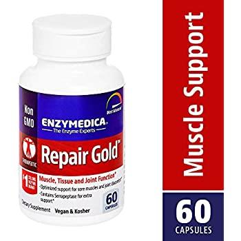 Amazon Com Enzymedica Repair Gold Muscle Tissue