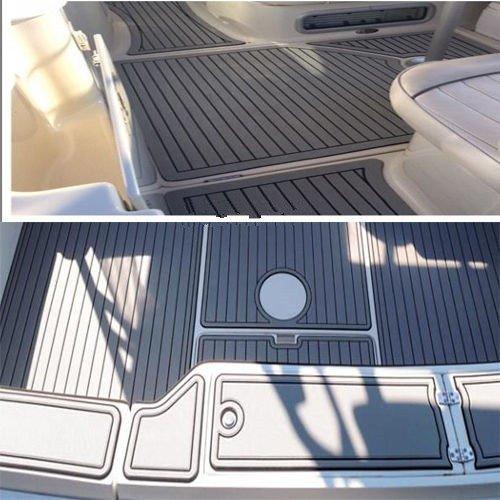 35.4''X94.5''/90cm X 240CMSelf Adhesive EVA Foam Teak Sheet Boat Yacht Synthetic Decking