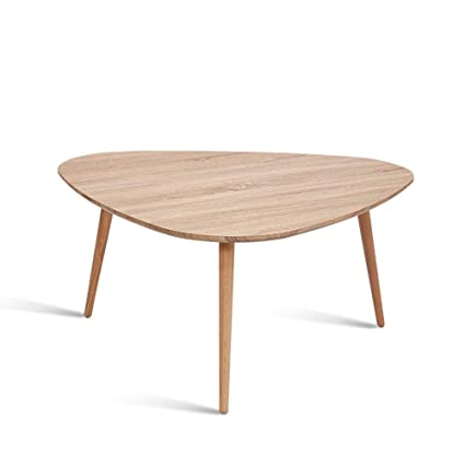 Amazon.com: Coffee Table Small Apartment Solid Wood Table ...
