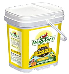 Wagner\'s 42050 Nyjer Seed Bird Food Bucket, 7-Pounds
