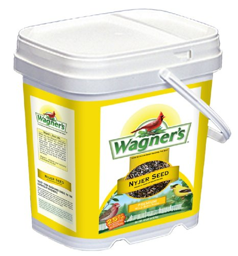 Wagner's 42050 Nyjer Seed Bird Food Bucket, 7-Pounds