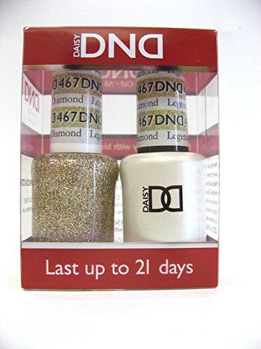 DND *Duo Gel*  Glitter Set 467 - Legendary Diamond