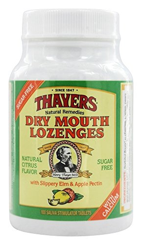 Mouth Dry Citrus Lozenges (Sugar Free Citrus Dry Mouth Lozenges 100 ct)