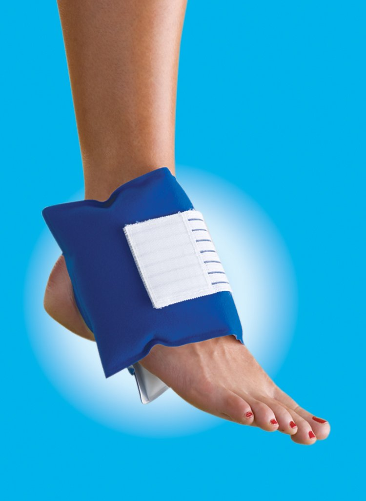 Thera-Med Universal Pad, Cold Pack, Ice Pack for Ankles, Wrists, Elbows & Knees, Dual-Sided for Multi-Temperature Therapy by Theramed