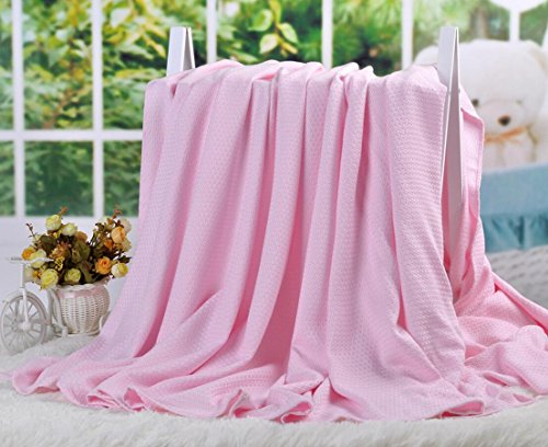 LAGHCAT Air Conditioning Cool Throw Blankets - Lightweight Bamboo Fiber Knitted Throws Summer Thin...