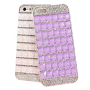 LCJ iPhone 6 Plus compatible Diamond Look Case with Kickstand , Pink
