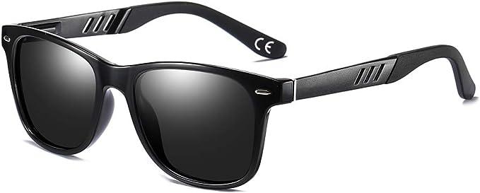 BLEVET Vintage Polarizzate Sport Occhiali da sole per Uomo e Donne UV400 Polarizadas BX011
