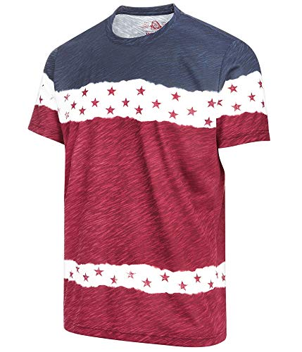 American Rag Mens Americana Graphic T-Shirt, Red, XX-Large