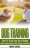 DOG TRAINING: How To Train Your Best Buddy - Puppy training, Dog Care, Potty Training & Animal Care (Obedience Training, How To Train Your Dog, Canine, ... Training, Crate Training, Dog Whisperer)