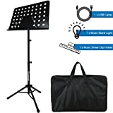 Music Stand, Kasonic Professional Collapsible Music Stand Review and Comparison