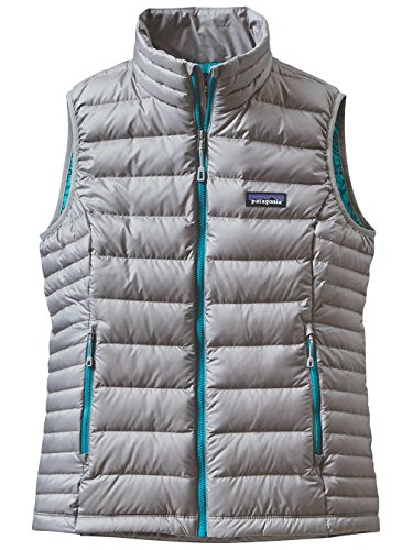 Patagonia Womens Down Sweater Vest Drifter Grey 84628 DFT...