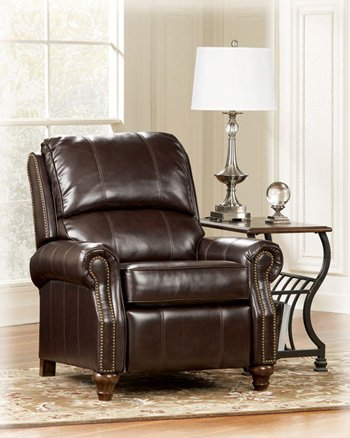 Ashley Furniture Signature Design - Birsh DuraBlend Recliner Chair - Manual Reclinging - Mahogany Brown & Amazon.com: Ashley Furniture Signature Design - Birsh DuraBlend ... islam-shia.org