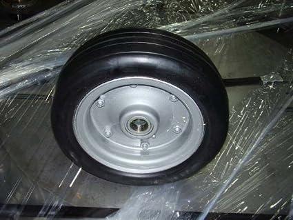 WAC First Choice Mowers Sicma 6602739 Solid Finish Mower Wheel for Sicma