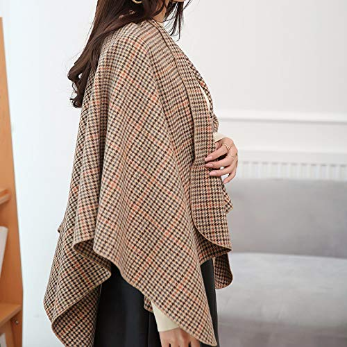 de Hiver Manteau Laine Shukun Hiver Automne Manteau loquet Laine Manteau charpe de Veste Style EAqww41f