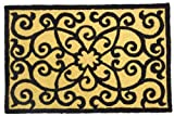 Jellybean Elegant Frontgate Scroll Accent Area Rug For Sale