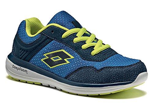 Lotto - Zapatillas de tenis para niño Blau (BLUE PACIFIC/BLUE AVIATOR)