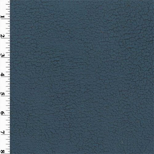 Polartec Shaggy Berber Fleece - Navy, Fabric By the Yard