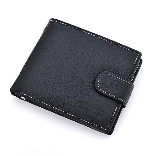 JR Genuine Leather Capacity Bilfold