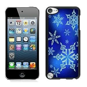 Popular Design Christmas snowflake Black iPod Touch 5 Case 6
