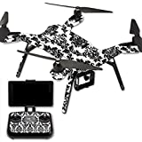 MightySkins Protective Vinyl Skin Decal for 3DR Solo Drone Quadcopter wrap cover sticker skins Vintage Damask