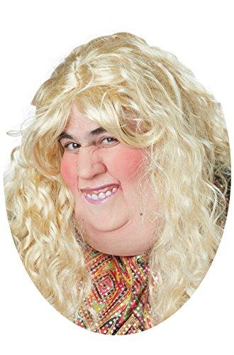 Catfish Double Chin Fat Woman Funny Half Mask