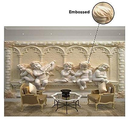Buy Kayra Decor Embossed 3D Wallpaper Print Decal Deco Indoor Wall ...