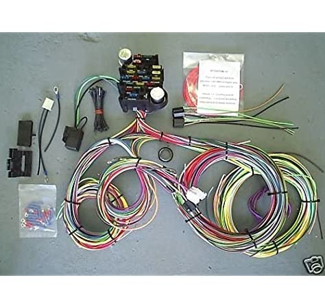 Amazon.com: EZ Wiring -21 Standard Color Wiring Harness: AutomotiveAmazon.com