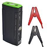 GOSO Car Battery Jump Starter 12,800 mAh 400A Emergency Power-Bank with 2 USB Outputs and 12v/16v/19v Power Supply Charger
