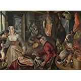 The Perfect effect canvas of oil painting 'Joachim Beuckelaer The Four Elements Fire ' ,size: 8 x 11 inch / 20 x 28 cm ,this Replica Art DecorativePrints on Canvas is fit for Bathroom decor and Home decor and Gifts