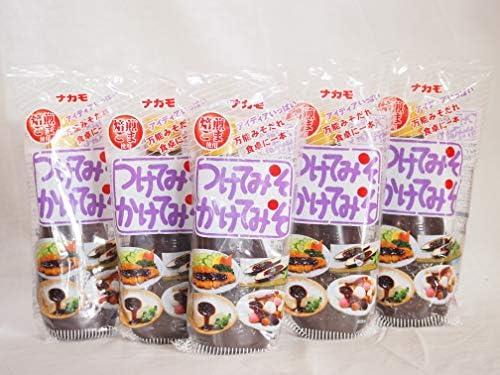 万能みそだれ つけてみそかけてみそ 焙煎ごま使用 ナカモ(愛知県)400g×5