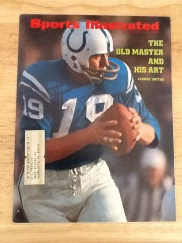 SPORTS ILLUSTRATED JULY 10, 1972 - THE OLD MASTER AND HIS ART - Johnny Unitas from Unknown