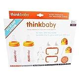 Thinksport ALL IN ONE Feeding Bottle, Orange