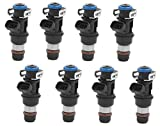 #5: Horsepower Upgrade - 24lbs/hr-252cc(4 Hole) Re-manufactured OEM Delphi 25317628 Fuel Injectors for 2001-2007 Chevy/Cadillac/GM 4.8 5.3 6.0L Set of 8
