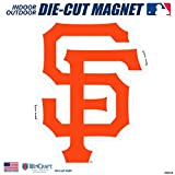 "Stockdale San Francisco Giants SD 6"" Logo MAGNET Die Cut Auto Home Heavy Duty Baseball"