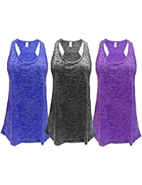 Flowy Burnout or TriBlend Racerback Tank