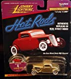 diecast street rod - FLATHEAD FLYER * Collector #4 * Johnny Lightning 1997 HOT RODS Release Four 1:64 Scale Die Cast Vehicle