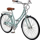 Pure City Dutch Style Step-Thru 3-Speed Bicycle, 45cm/ Medium, Crosby Sea Foam Green/White