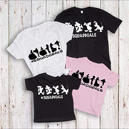 Squad Goals Shirts, Disney Family Matching T-shirts, Vacation trip Tees, Women's Unisex Summer Tanks]()