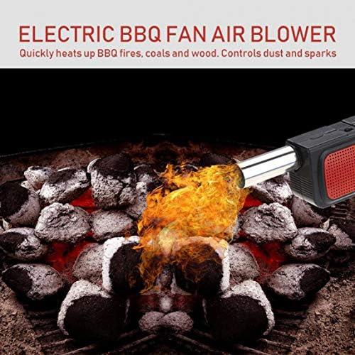 sdfghzsedfgsdfg en Plein air Électrique Barbecue Sèche-Cheveux Portable Souffleur d'air Électrique Souffleur d'air Barbecue Outil en Plein Air Barbecue Outils
