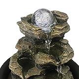 """xpiyaer 8.3"""" High 4-Tier Cascading Rock Falls"""