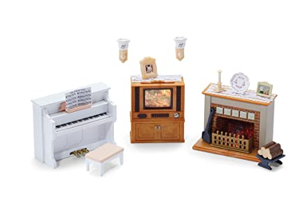 Calico Critters Living Room.Calico Critters Living Room Accessories Set