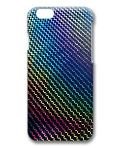 Color Curve Ripples Background Sakuraelieechyan Hard Protective 3D Cover Case for Iphone6 (4.7 inch)