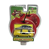 Motor Max Fresh Cherries Yellow 1975 AMC Matador Diecast Replica