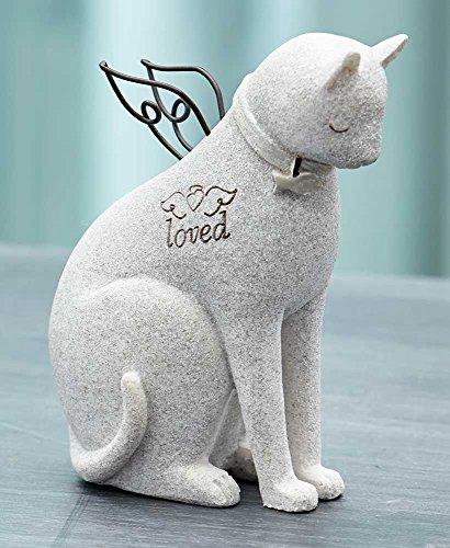 The Lakeside Collection Faithful Angel by Robin Davis Cat Figurine