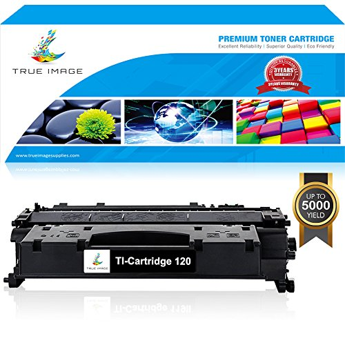 TRUE IMAGE Compatible Toner Cartridge 2617b001 Replacement for Canon 120 Toner Cartridge 120 CRG-120 Canon Imageclass D1320 D1350 D1120 D1550 D1150 D1520 Canon Satera MF417dw Canon MF6680DN Black (Cartridge Black Toner 120)