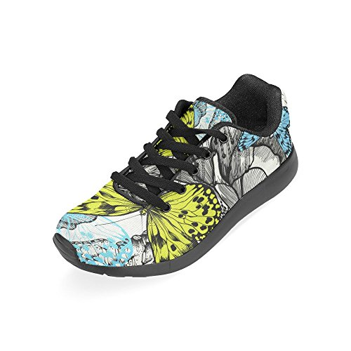 Interestprint Womens Crosstrainer Löparskor Jogging Lätta Sport Gå Atletiska Sneakers