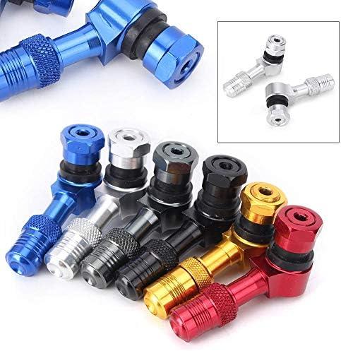 全6色 11.3mm 汎用 バイク バルブ カバー スリープ キャップ ホイールタイヤバルブステム CNC アルミ製 スズキ ヤマハ カワサキ ホンダ に適用